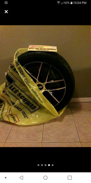 "NEW ""18 RIMS AND TIRES for Sale in Sanger, CA"