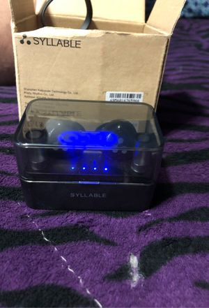 Brand new bluetooth Syllable ear buds for Sale in Los Angeles, CA