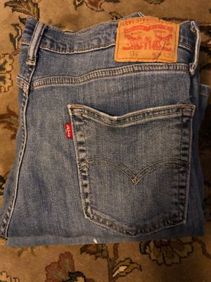 4 Pair of worn in Levi's. 34x32 and 34x34 for Sale in Virginia Beach, VA