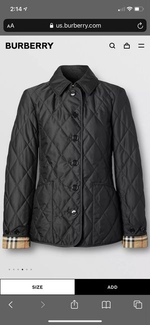 WOMEN'S BURBERRY JACKET OFFICIAL for Sale in Philadelphia, PA