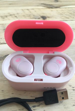 Skull Candy PINK Airbuds Wireless-Reconditioned for Sale in Irvine, CA