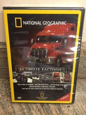 National Geographic Ultimate Factories NEW DVD for Sale in West Palm Beach, FL
