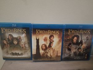 Lord of the Rings/Game of Thrones DVD sets for Sale in Union City, GA