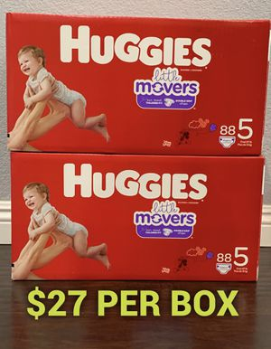 Huggies Little Mover size 5 for Sale in Long Beach, CA