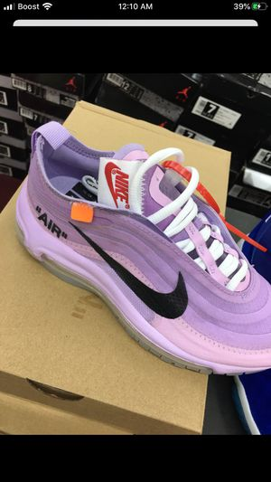 Nike Air Max 97 Off White in Purple for Sale in Grand Prairie, TX
