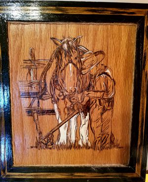 Freehand woodburning for Sale in Weston, MO