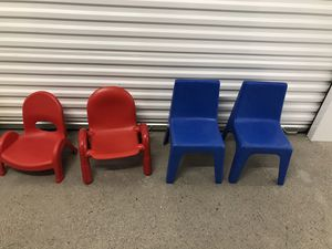 Kids chairs toddler sizes for Sale in Dallas, TX