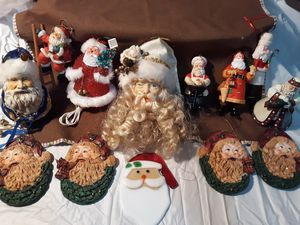 Santa Ornaments for Sale in Minerva, OH