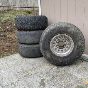 16x10 8x170 Aluminum Wheels And Tires for Sale in Bothell, WA