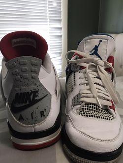 """Jordan Retro 4 """"what the"""" & Foamposite """"Gucci"""" for Sale in Monterey,  CA"""