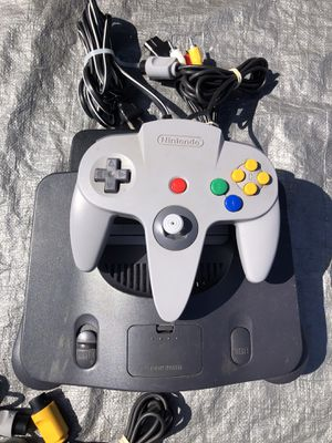 Nintendo 64 Complete & Tested (No Games Included) for Sale in San Diego, CA