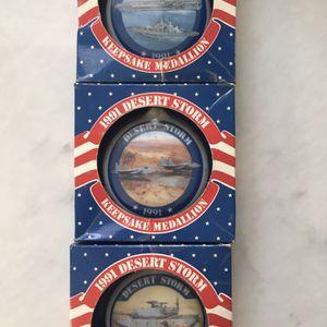 Keepsake 1991 Desert Storm Medallion for Sale in Lakewood, OH