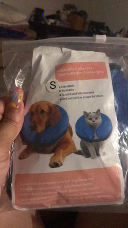 Inflatable dog collar Small new for Sale in Ocala,  FL