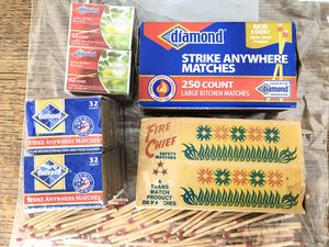 Vintage strike anywhere matches mixed lot for Sale in Daleville, AL