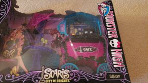 Scaris monster high doll furniture set for Sale in Weston, WI