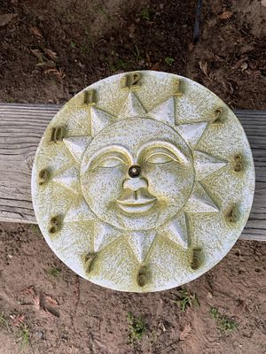 Outdoor Sun Nonworking Clock Wall Decor for Sale in Clovis, CA