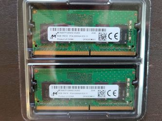 16GB RAM (8x2) 3200mhz for Laptops for Sale in Seattle,  WA