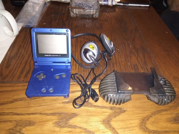 Gameboy advance sp and 7 games