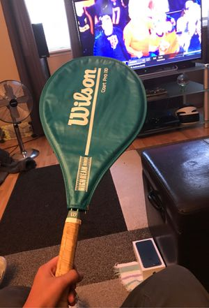 Wilson court pro 110 high beam series tennis rackets for Sale in Tacoma, WA