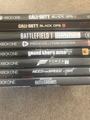 Xbox One Games for Sale in Pittsburg, CA