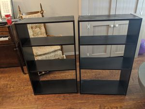 Pair of dark brown bookshelves for Sale in Sun City, AZ