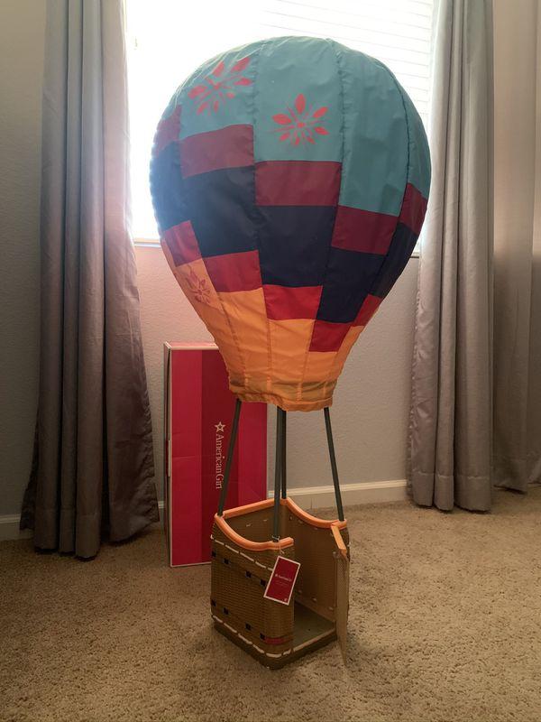American girl Saige Hot Air Ballon