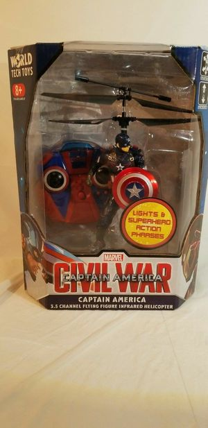 Marvel Captain America Infrared Helicopter for Sale in San Francisco, CA