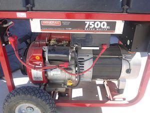 Generac 7500 EXL for Sale in Chandler, AZ