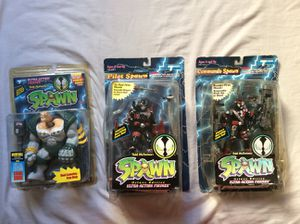 Mcfarlane Toys SPAWN 1994-1995 Action Figures Lot for Sale in Costa Mesa, CA