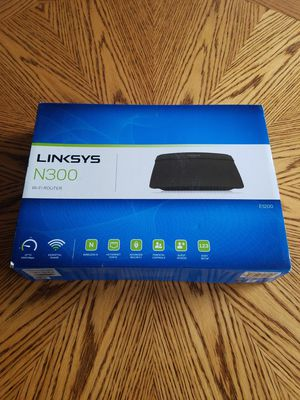 Wireless N Router - Linksys N300/E1200 for Sale in Westminster, CO