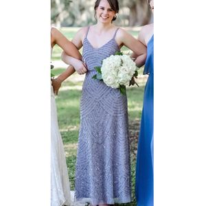 Gray sparkly prom dress, evening gown, bridesmaids dress for Sale in Herndon, VA