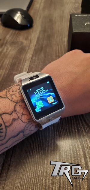 WHITE BRAND NEW SMART WATCH FOR ANDROID. WATCH+PHONE!! GET 2 OR MORE AND SAVE $$$ for Sale in Davenport, FL