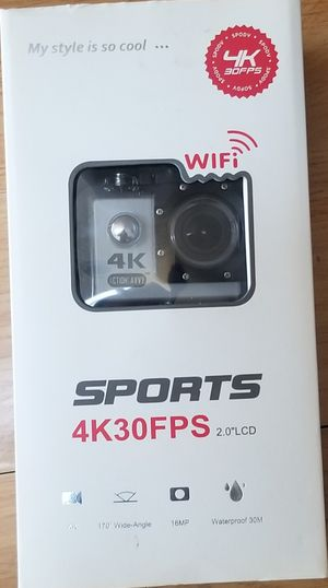 4k action cam. Great video quality. for Sale in San Jose, CA