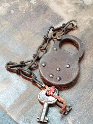 Antique lock and key for Sale in Happy Valley, OR