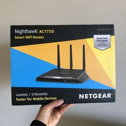 Netgear Nighthawk Smart WiFi Router AC1750 for Sale in Los Gatos,  CA