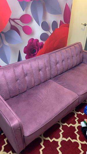 Futon/Couch Purple for Sale in Atlanta, GA