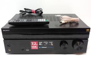 Sony - 7.2-Ch. with Dolby Atmos 4K Ultra HD A/V Home Theater Receiver. Bluetooth/4 HDMI/145w per Channel. Works Excellent. Clean. Regular $1000 for Sale in San Antonio, TX