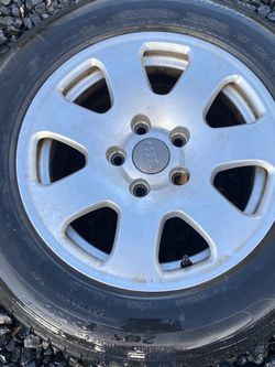 02 Audi A4 Stock Wheels 5x112 for Sale in Hillsboro,  OR