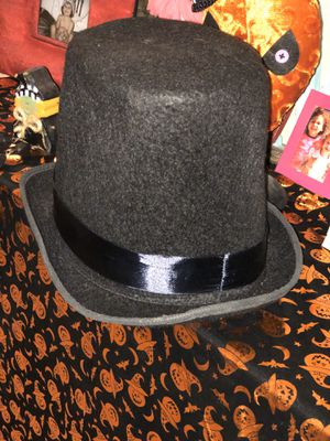Halloween Costume Black Magician 🎩 Top Hat for Sale in Ontario, CA