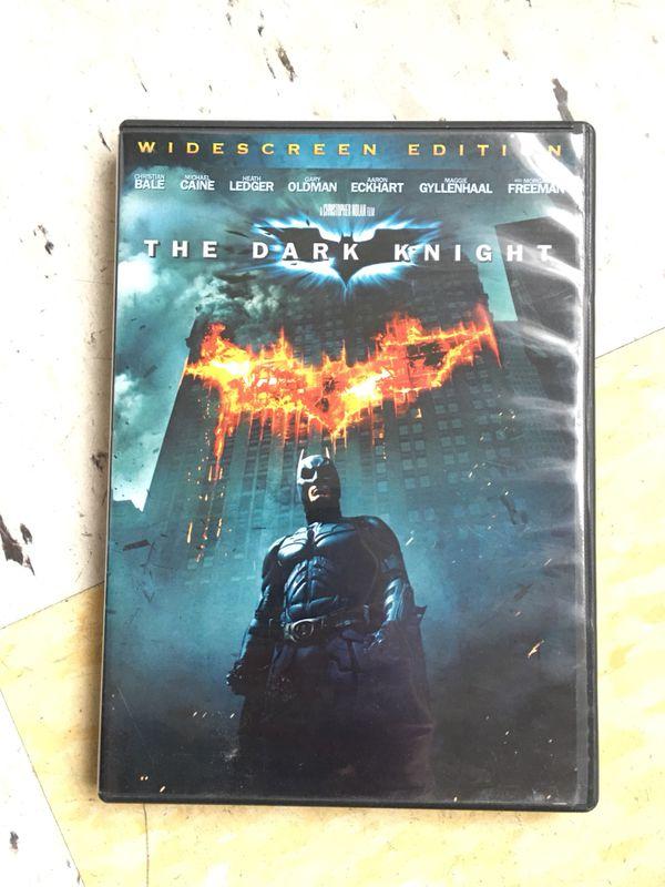 Batman: The Dark Knight Widescreen Edition