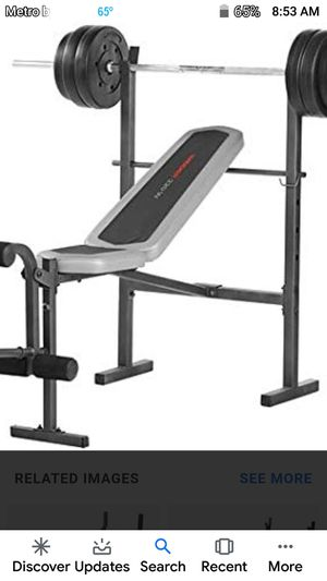 Weider weight bench only no weights for Sale in Tucker, GA