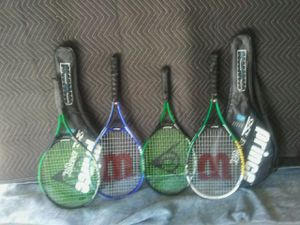 Tennis rackets and covers for Sale in Palm Harbor, FL