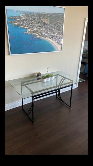 GLASS TABLE for Sale in Santa Ana, CA