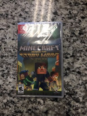 Minecraft Story Mode Season 2 (Nintendo Switch, 2018) New Sealed #16187-1 for Sale in Revere, MA