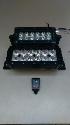 2 LED BAR with the remote control one is brand new other used but still in good condition for Sale in Boynton Beach, FL