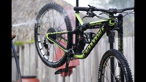 Cannondale Trigger Team Carbon 27.5 Small MTB + 1up Bike Rack combo for Sale in Miami, FL