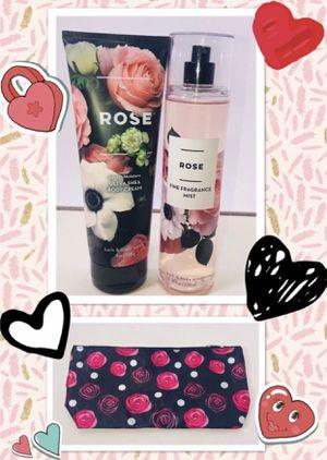 BATH k BODY WORLS* brand ROSE 🌹 SCENT 3 piece gift set! BRAND NEW! for Sale in Carrollton, TX