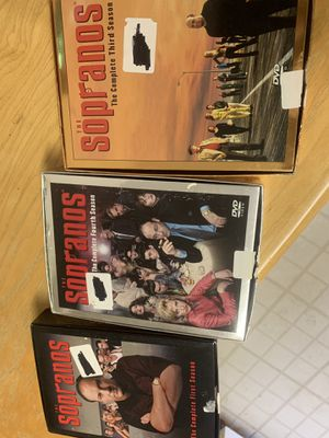 Sopranos DVD boxset season 1,3, 4 for Sale in Laurel, MD