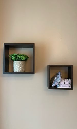 Set of Square Floating Shelves for Sale in Cambridge, MA