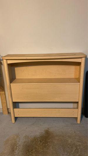 Palliser shelf/headboard for Twin Sized Bed for Sale in Dublin, OH